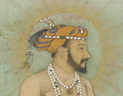 portrait of Mughal ruler Shah Jahan