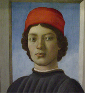 Filippino Lippi, Portrait of a Youth