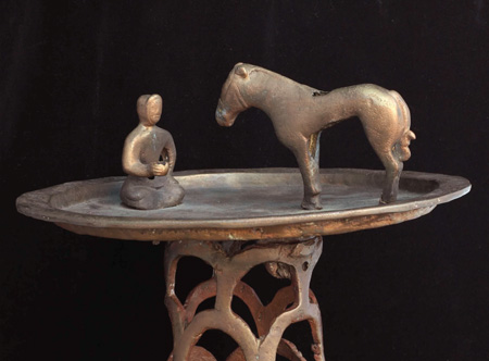 nomad and horse in the Eurasian steppe, c. 2400 years ago