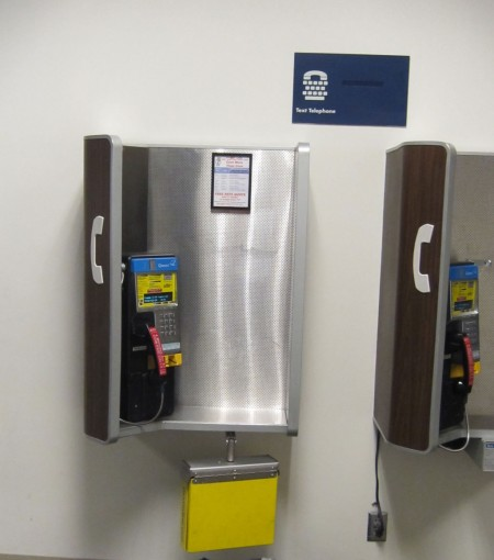 airport payphone