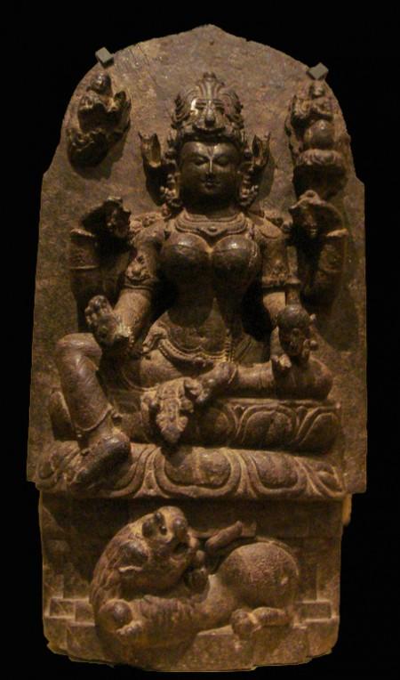 statue of Hindu goddess Parvati