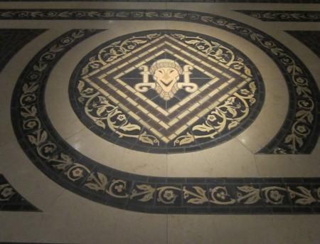 Bābak joker mosaic