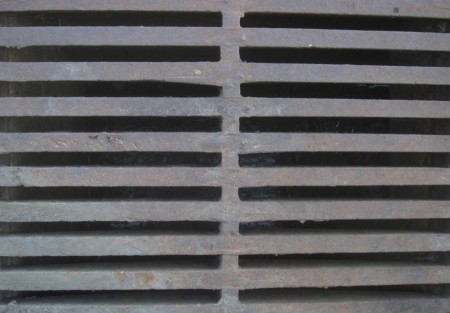 metal grate imprisons falsely accused