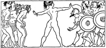 Lysistrata from Aristophanes's play Lysistrata