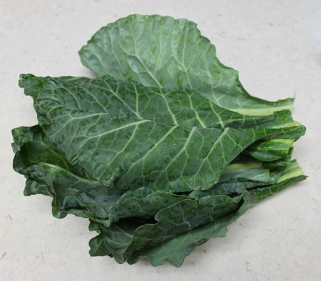 bureaucracy-certified organic collard greens ($2.99 plus tax)