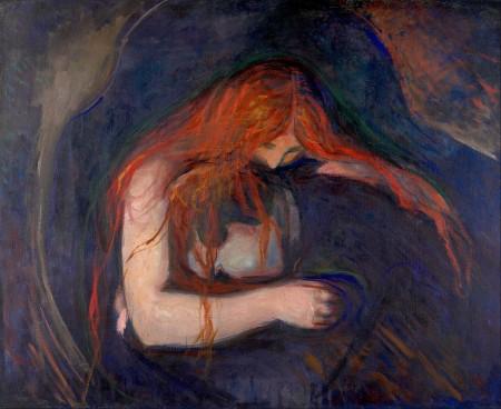Edvard Munch, Vampire