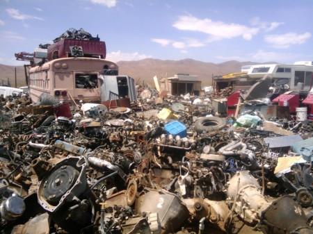 junkyard of men's lives