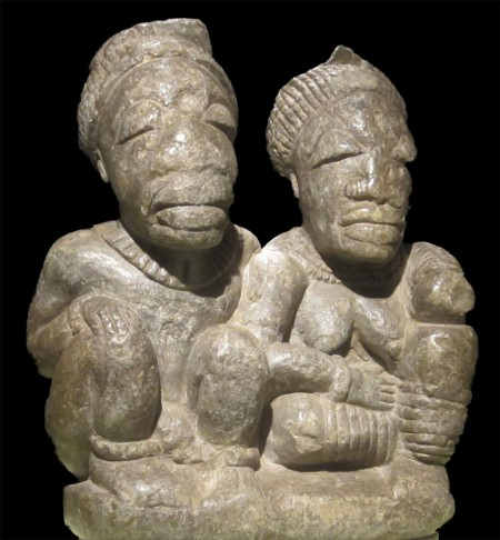 loving and serving: stone couple from Sierra Leone