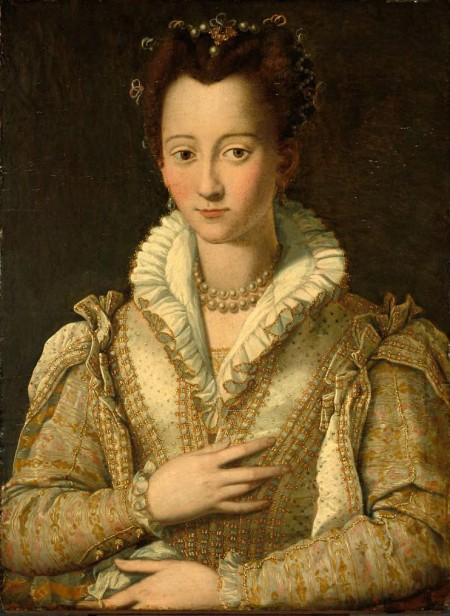 portrait of Italian noblewoman imaginatively representing Madonna Filippa
