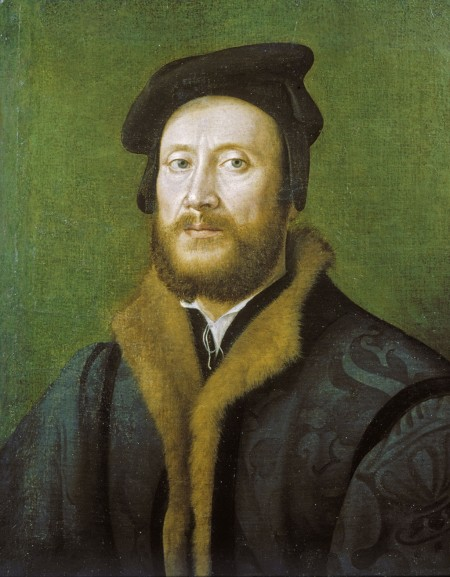 Portrait of a Bolognese Gentleman in a Fur-lined Coat