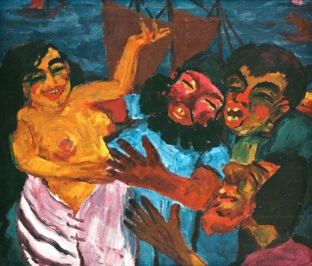 harlot Mary of Egypt by Nolde