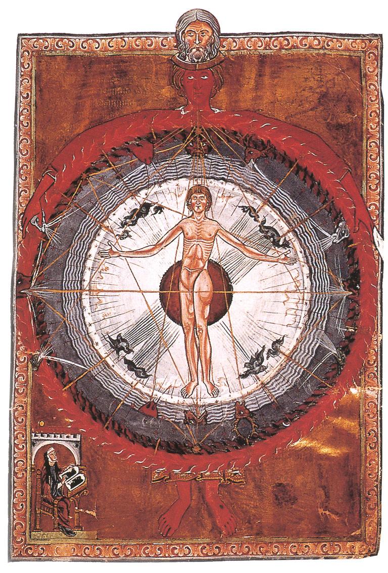 Hildgard of Bingen's universal man