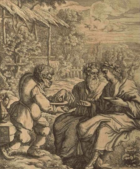 Aesop Romance: Aesop entertaining philosophers