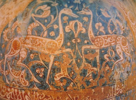 two gazelles on vase from Alhambra