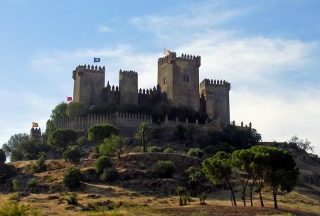 Castle at Almodóvar, earlier known as al-Mudawwar al-Adna