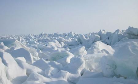 frozen Artic: Laptev Sea