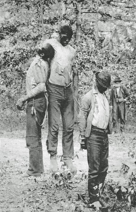men lynched