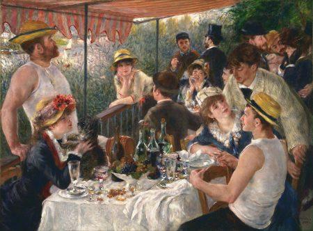social intrigue at dinner