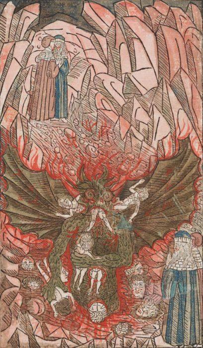 Lucifer in Dante's Inferno