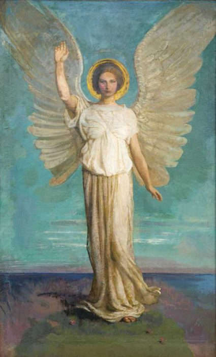 angel of the dawn: woman in imagination of resurrection