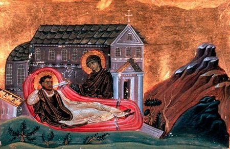 Romanos the Melodist and the Virgin Mary