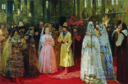 bride show in 19th-century Russia