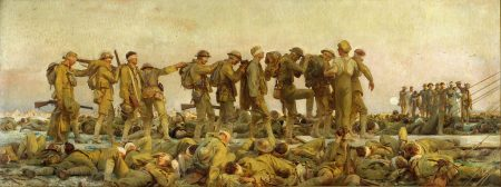 dead and wounded men